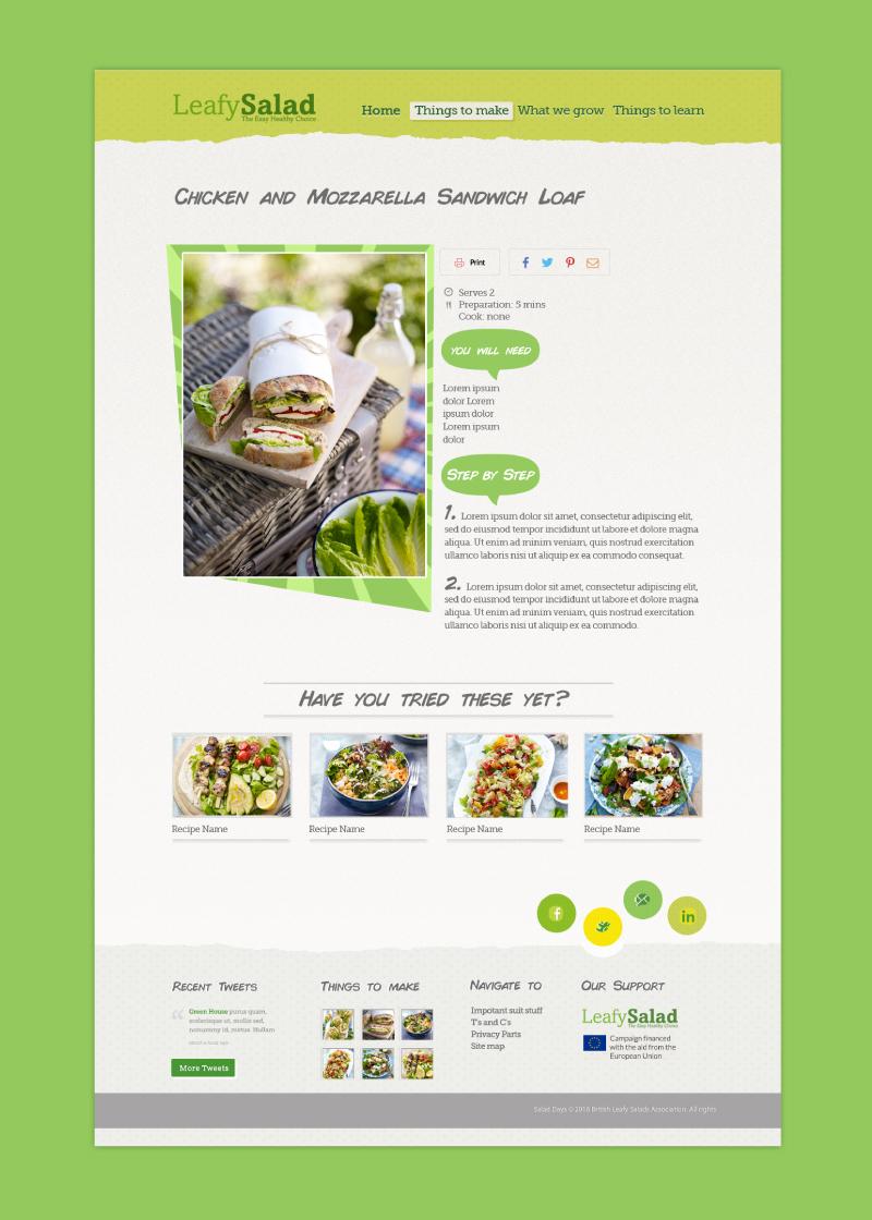 Leafy Salads